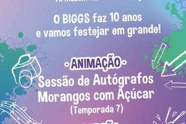 Canal BIGGS comemora 10º aniversário