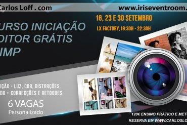 Curso de Iniciação à Edição em Fotografia